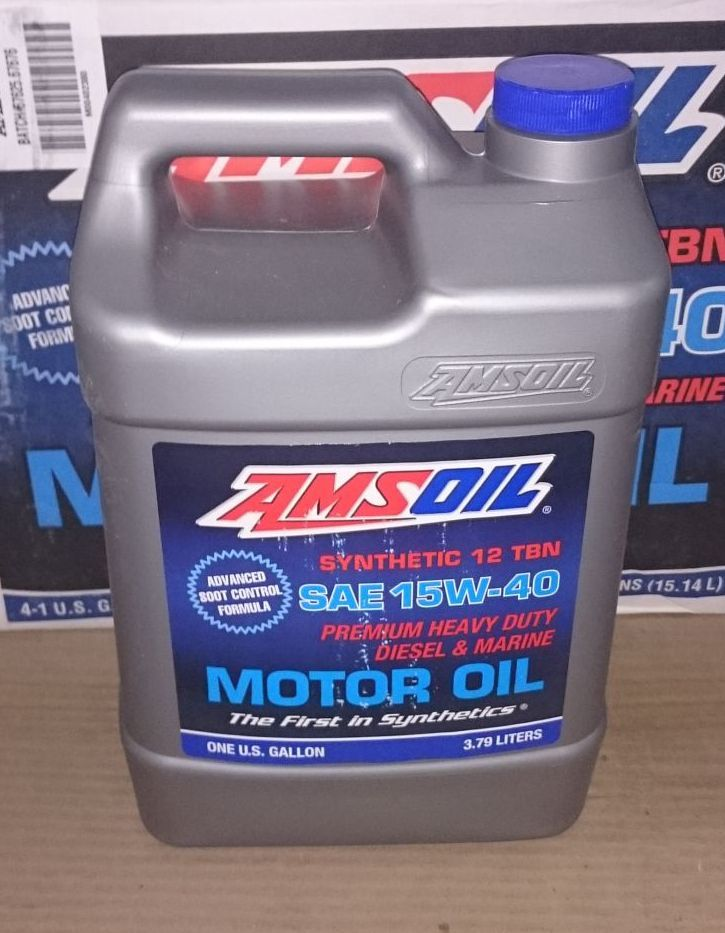 Amsoil15w 40 Heavy Duty Diesel And Marine Motor Oil See More