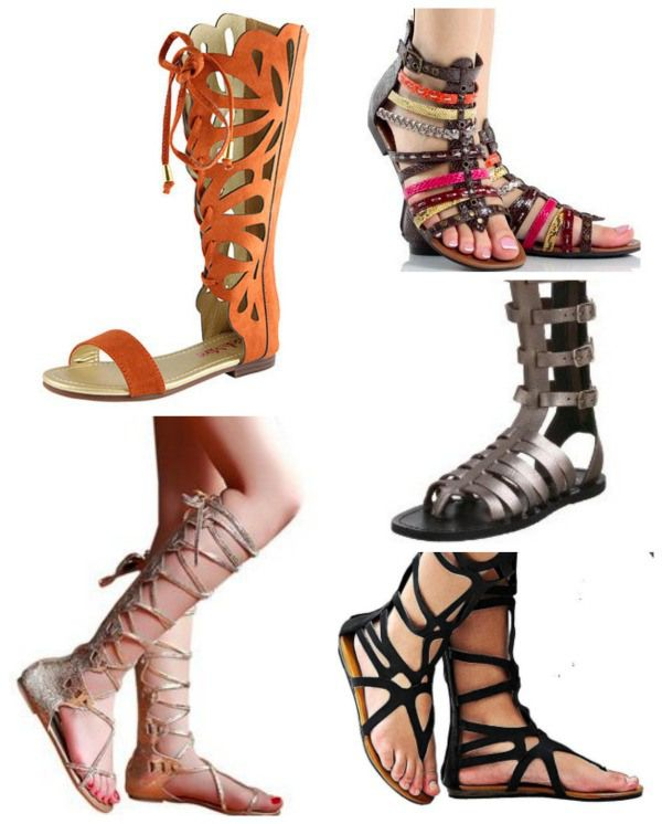 ee5c2f26c208 Shoe Trends for Spring Summer 2105 - gladiator sandals are still all the  rage. So many flattering styles.
