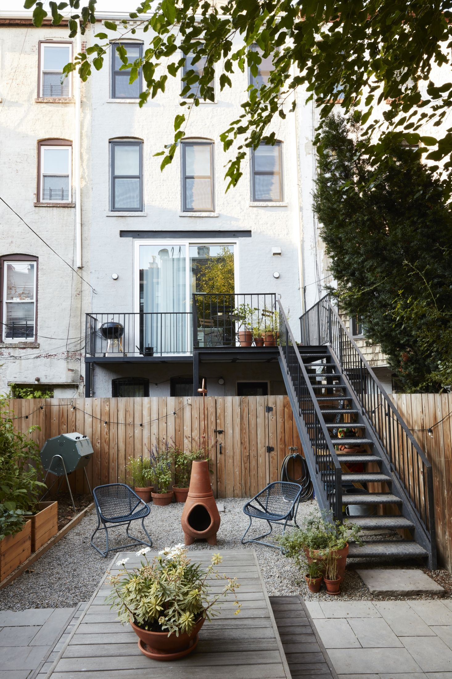 Industrial Outdoor Shower Sustainable Solutions A Modern Garden For A Historic