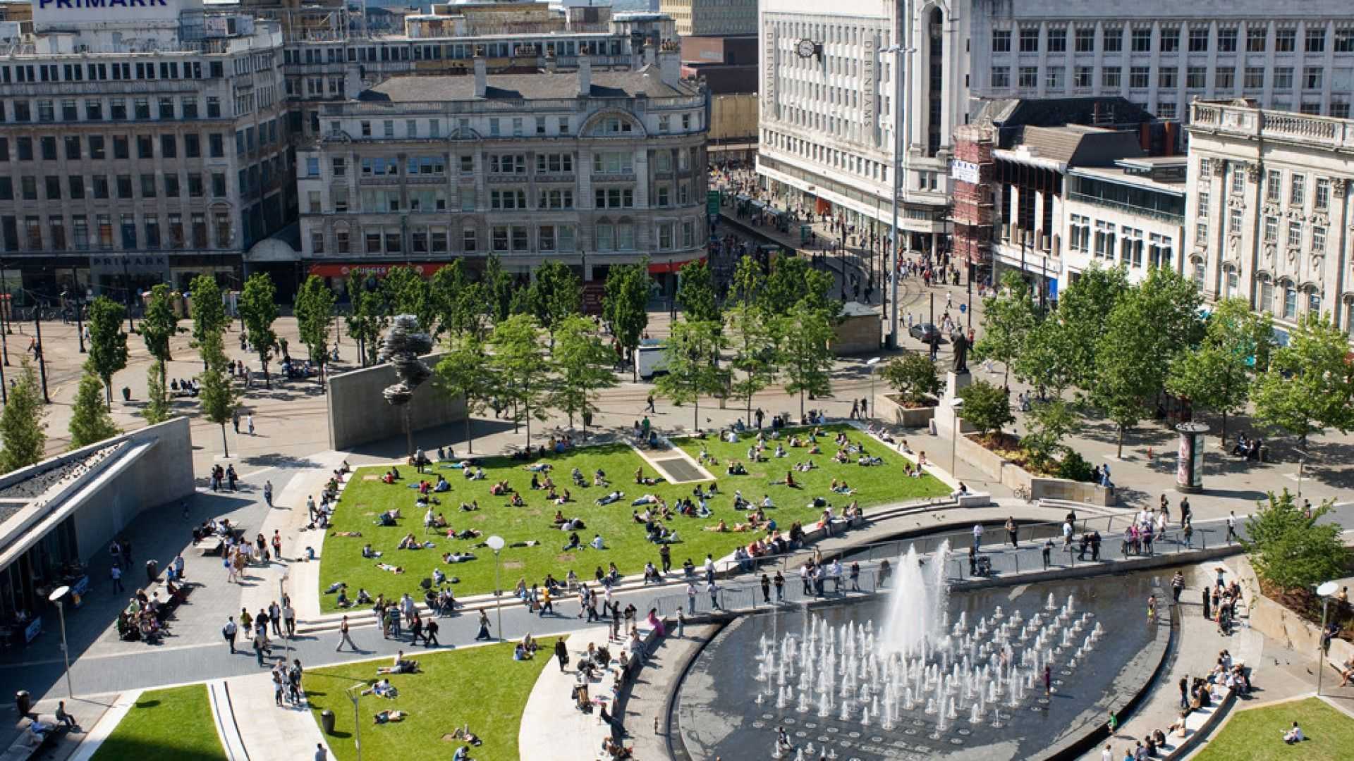 Piccadilly Gardens Manchester Google Search With Images