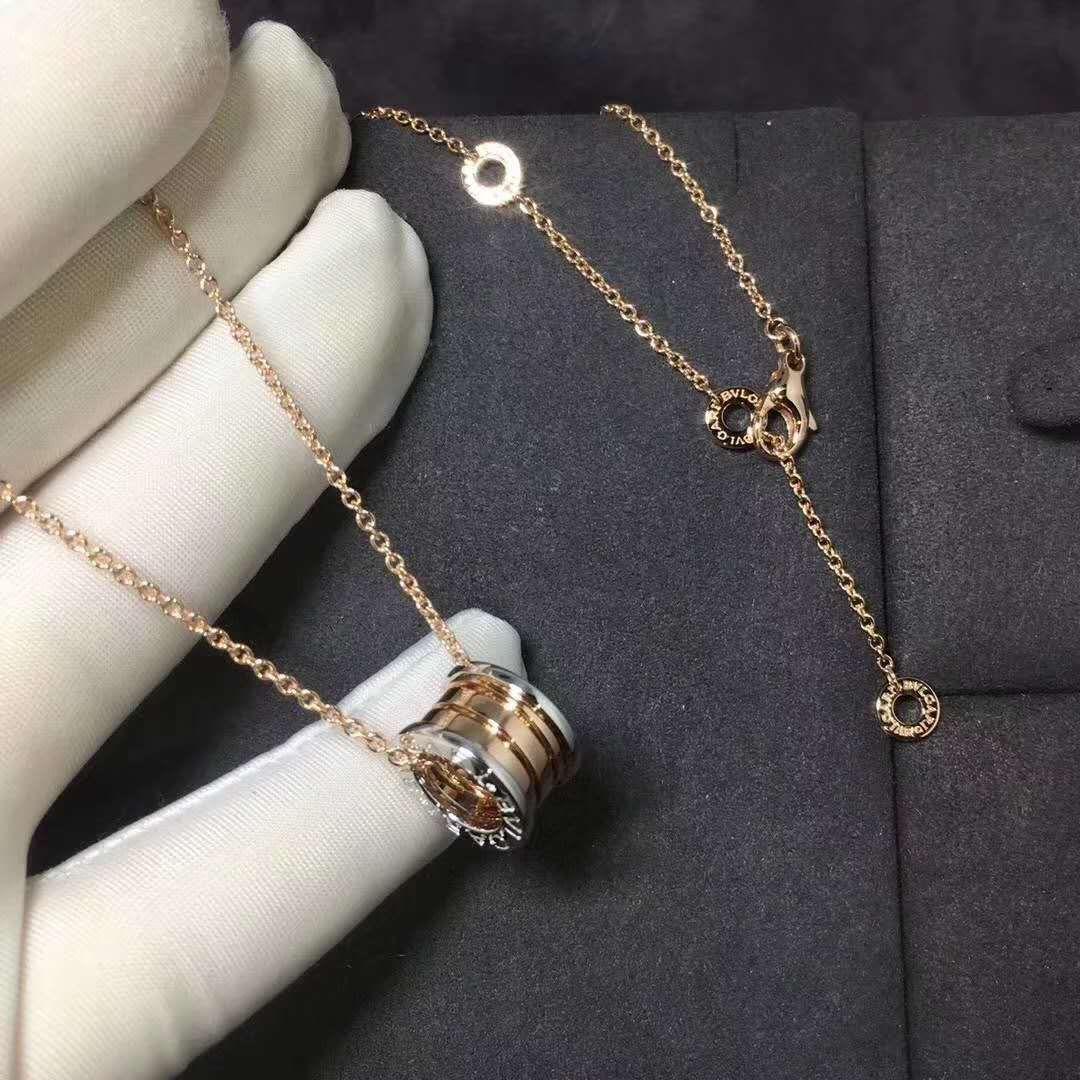Bvlgari B Zero1 Necklace Yellow Gold