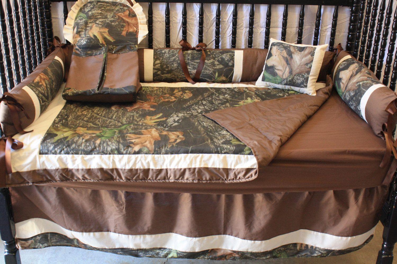 Camo Mossy Oak Baby Bedding Bedbugscreations