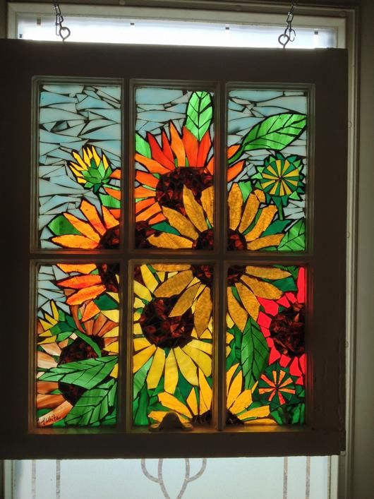 Sunny Days Delphi Artist Gallery Glass Mosaic Art Mosaic Art