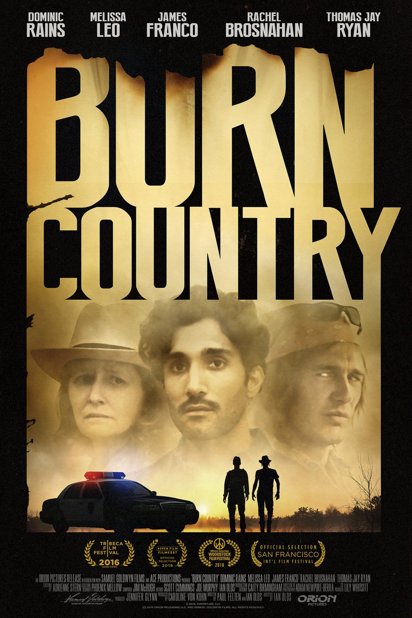 """""""Burn Country"""" movie poster, 2016. Full movies online"""