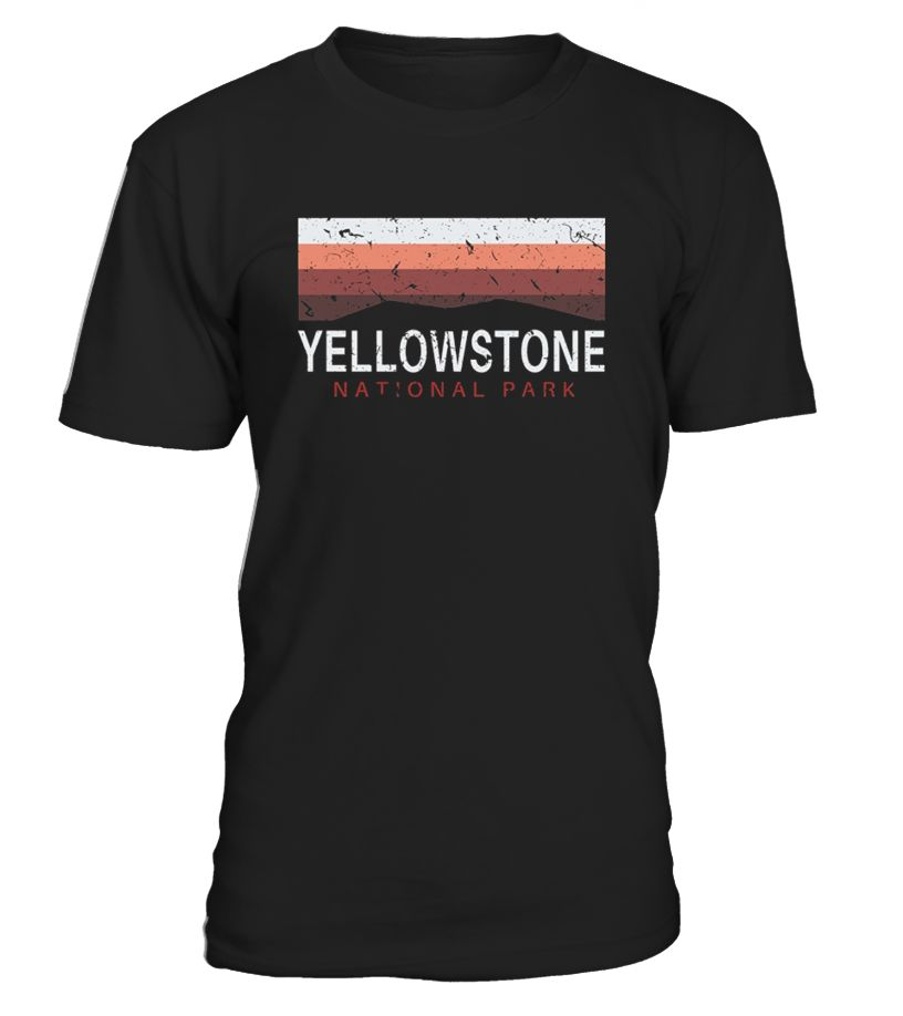 Have you visited Yellowstone, a United States National Park that's located in the states of Wyoming, Montana and Idaho before? This is a great place to visit for kids, men and women who love the outdoors!   This tshirt is a perfect vintage souvenir to add to your collection of National Park maps, hats, mugs, license plates, hoodies, sweatshirts and stickers!