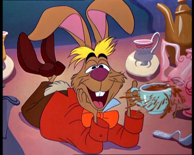 The March Hare Voiced By Comedian Jerry Colonna In The Mad Tea