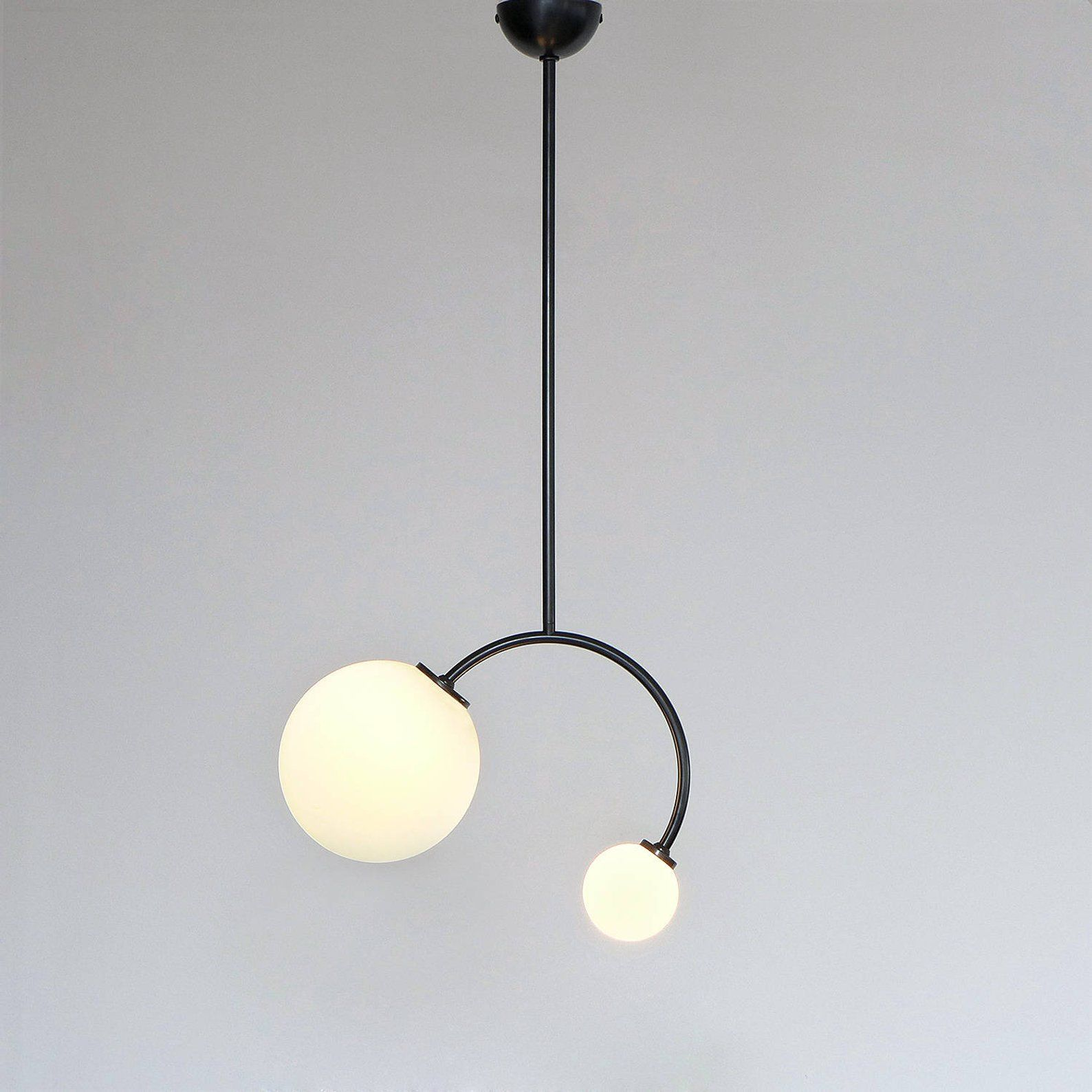 Minimal Modern Two Size Globe Shades Geometric Pendant Lamp Etsy Geometric Pendant Lamps Pendant Lamp Ceiling Lamp