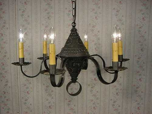 Old Vintage Early American Antique Rustic Colonial Primitive Looking  Handcrafted Century Style Tin Ceiling Lights/Chandeliers/Wall Lights/Post  Lights/Vanity ... - Old Vintage Early American Antique Rustic Colonial Primitive