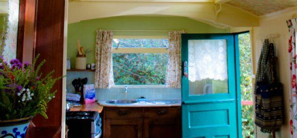 Green door, Duke, Springs Park, Cornwall