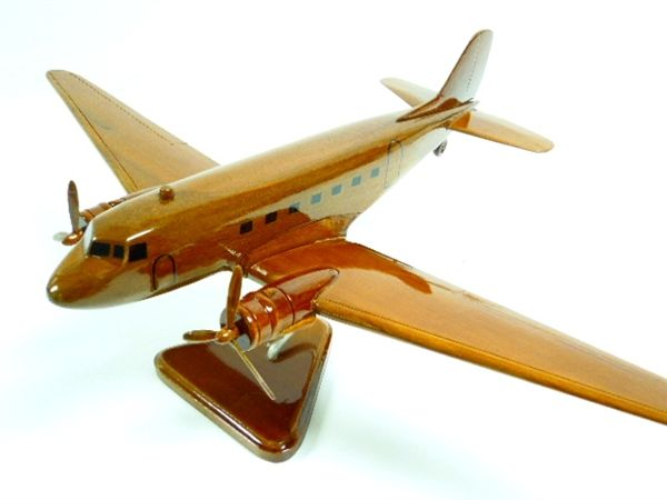 DC-3 - Premium Wood Designs #Commercial #Aircraft premiumwooddesigns.com