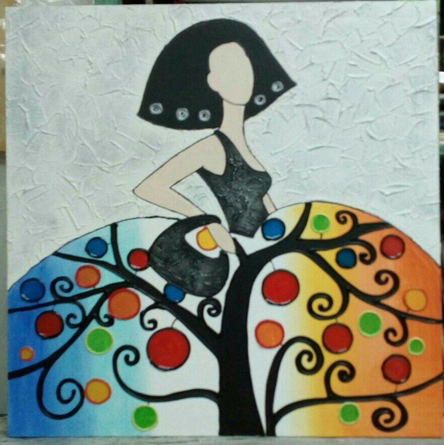 Menina rbol d la vida meninas pinterest vida - Cuadros de meninas modernos ...