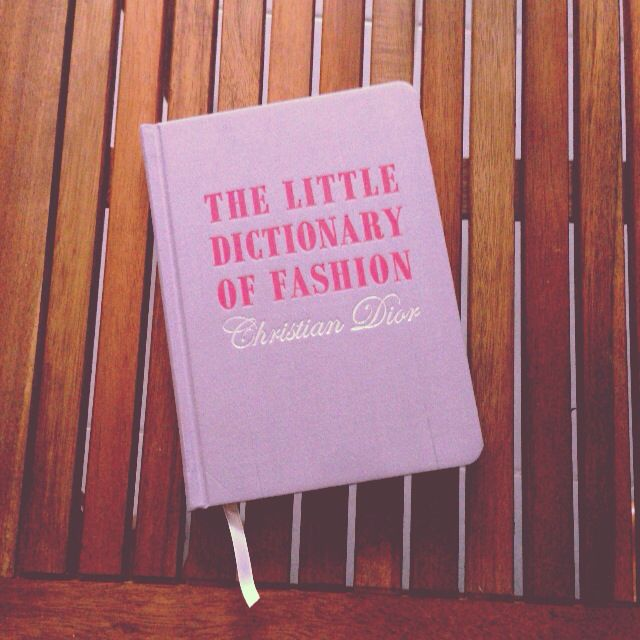 The little dictionary of fashion - Christian Dior #book #fashion #dior #christiandior