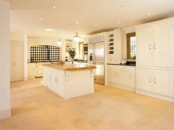 Kitchen Flooring Oz Gold Limestone Flooring Was Used For This