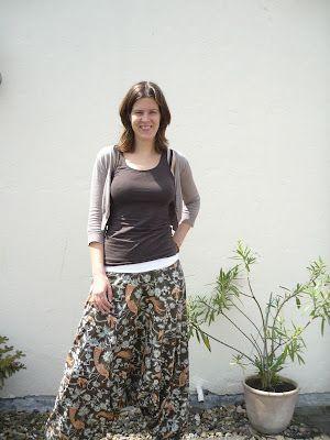 Gemakkelijke harembroek met patroon.. Kijk voor extra inspiratie ook op blog van emma en mona