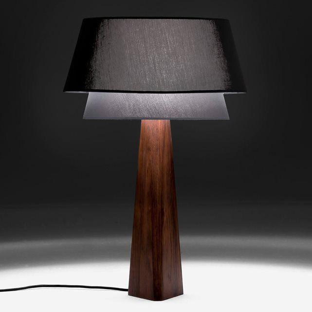 Lampenvoet Nestwood Eikenhout Tafellamp Eiken Tafel Houten Lamp