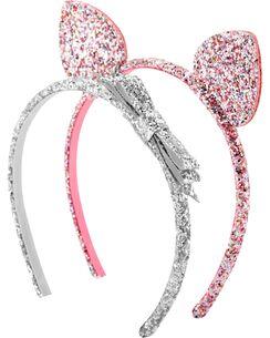 2 Pack Cat Ear Headbands Ear Headbands Girly Jewelry Cat Ears Girl