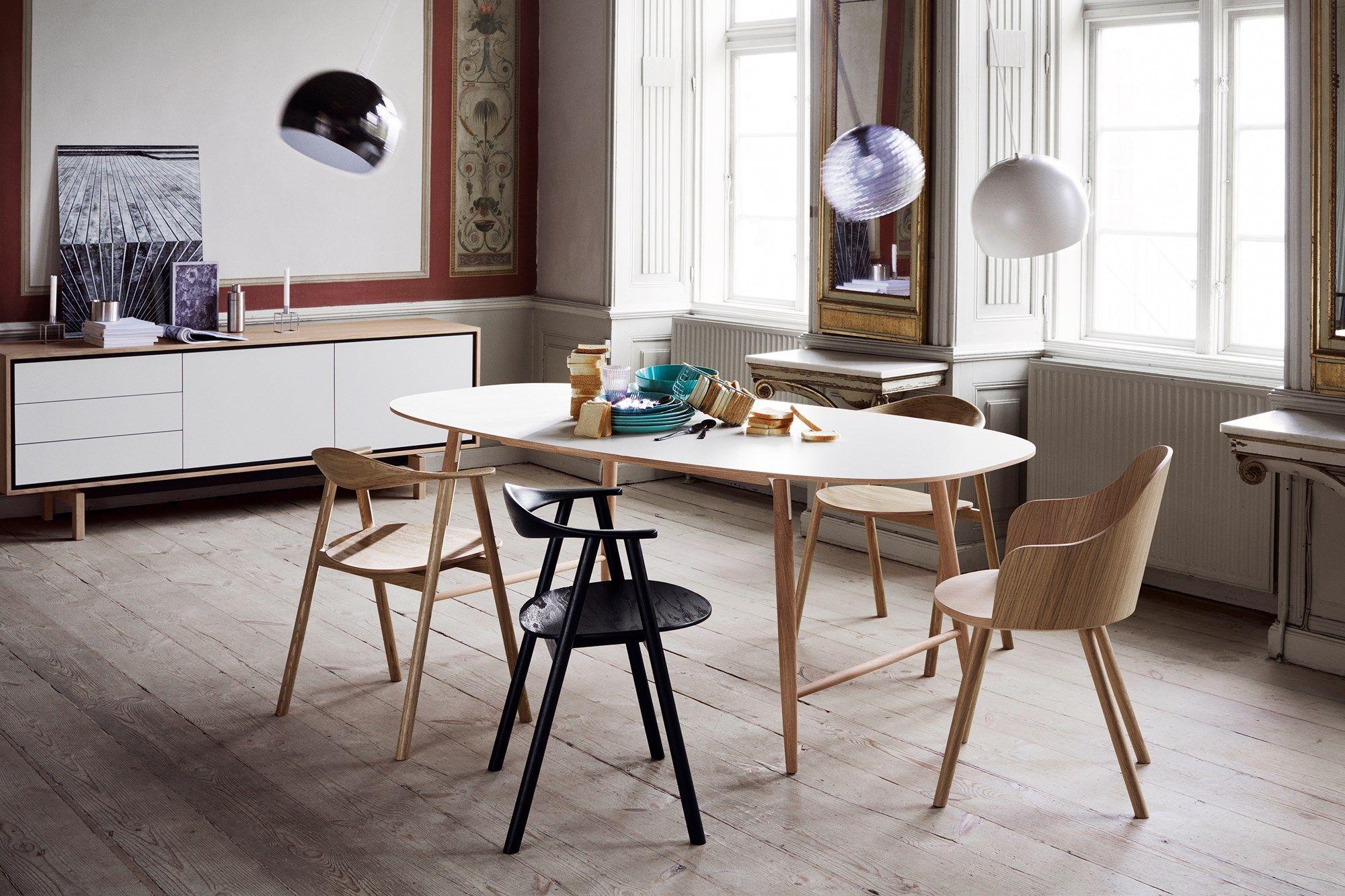 Scandinavisch Droomhuis Kopenhagen : Swing gestoffeerd eetkamerstoel eetkamer stoelen pinterest