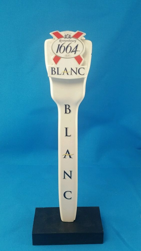 Kronenbourg 1664 BLANC Beer Tap Handle - France | Pinterest | Food