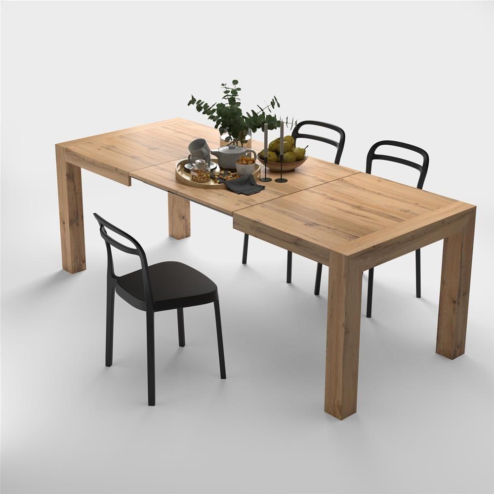 Tavolo A Consolle Allungabile Ikea.Tavolo Allungabile Moderno Iacopo Rovere Rustico Nel 2020