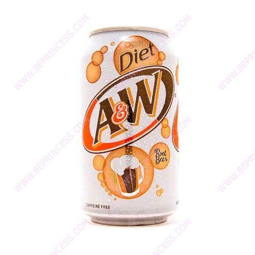 B E Princess Beer Diet A W Root Beer Root Beer