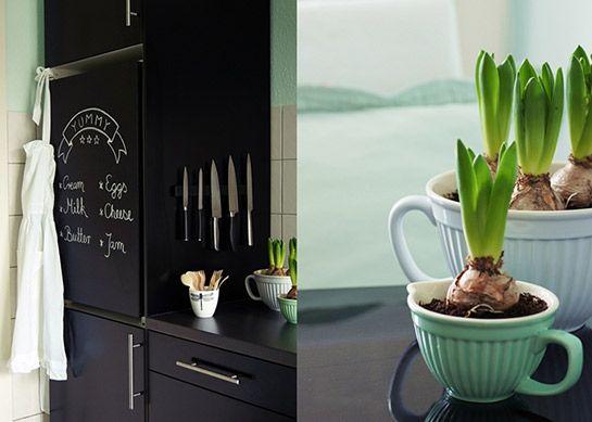 Kühlschrank als Tafel | DIY LOVE