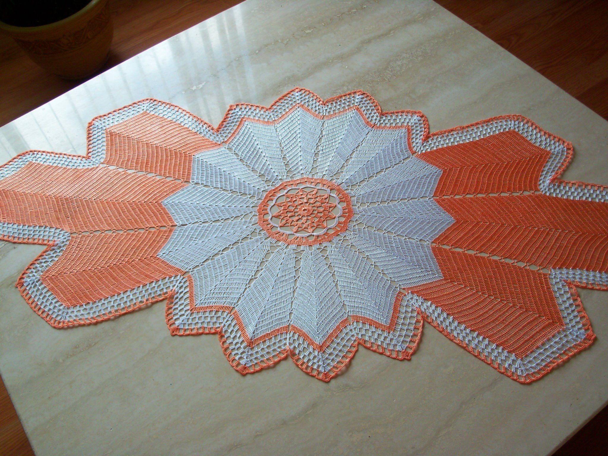 Pin von vanilza leonel auf Crochê | Pinterest | Deckchen ...