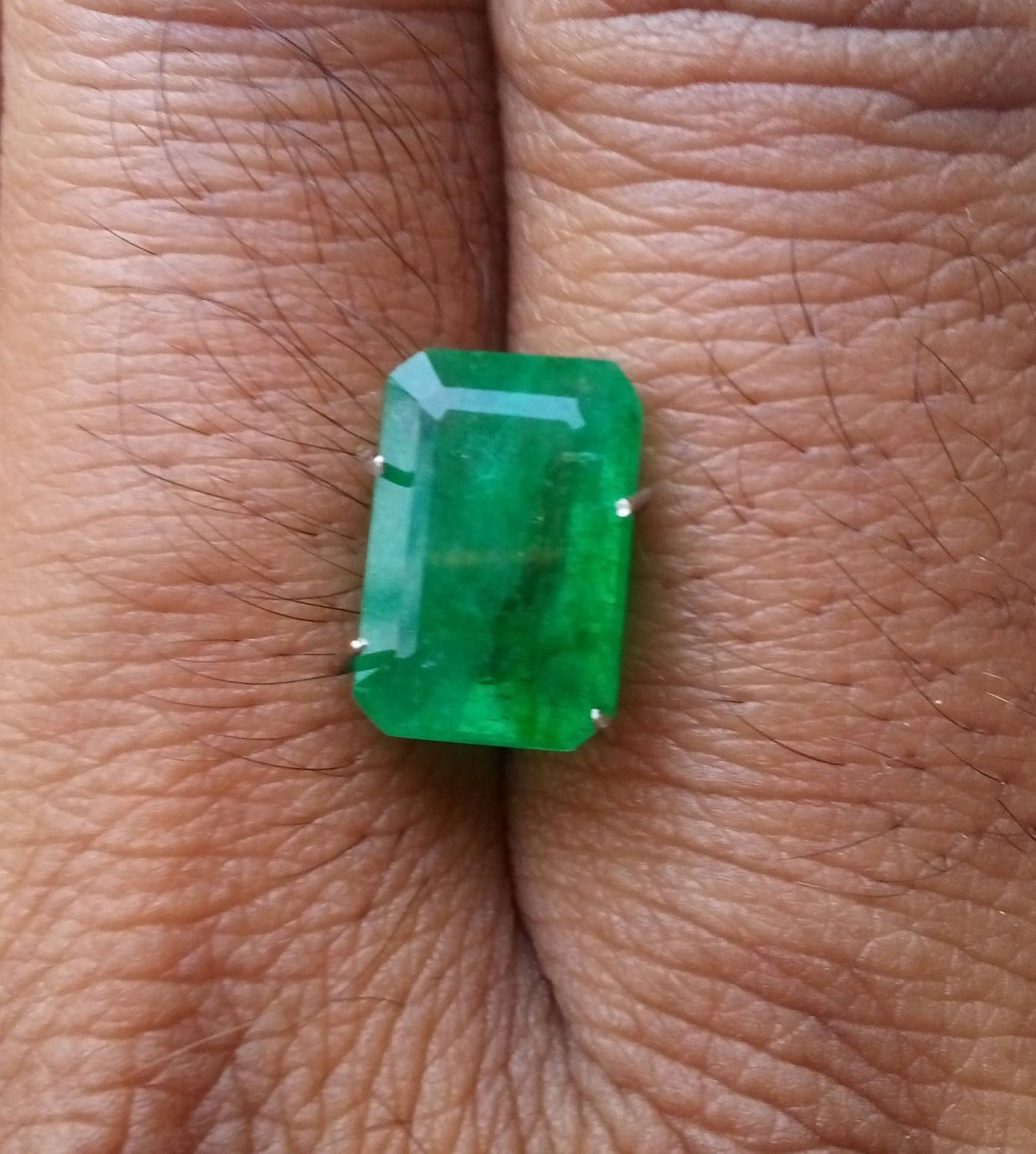 p emerald heat sharp green s treated quartz