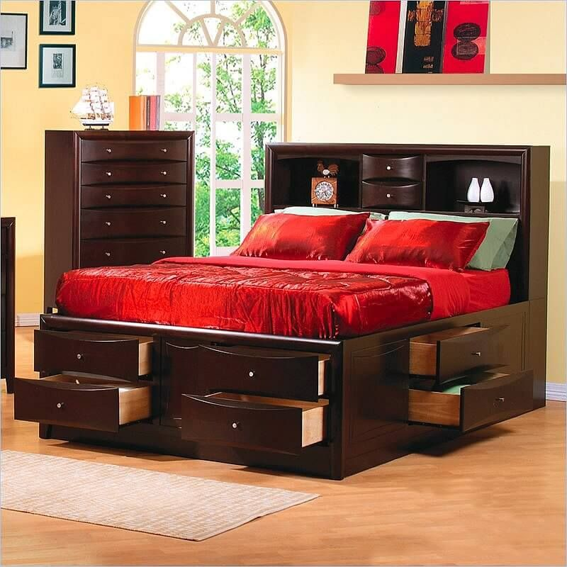 25 Incredible Queen Sized Beds With Storage Drawers Underneath Bed Frame With Storage Bedroom Sets Queen King Storage Bed