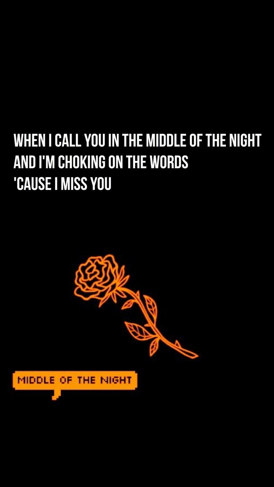The Vamps Middle Of The Night Lyrics Wallpaper Brad Simpson