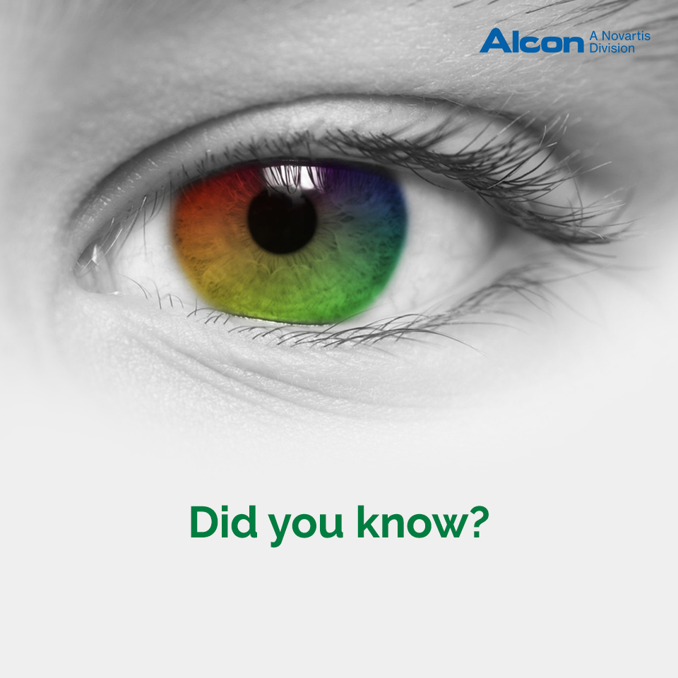 Our Eyes Cannot See The Color Red But Instead It Uses The Mix Of Green And Yellow To Perceiv Buy Contact Lenses Online Contact Lenses Online Buy Contact Lenses