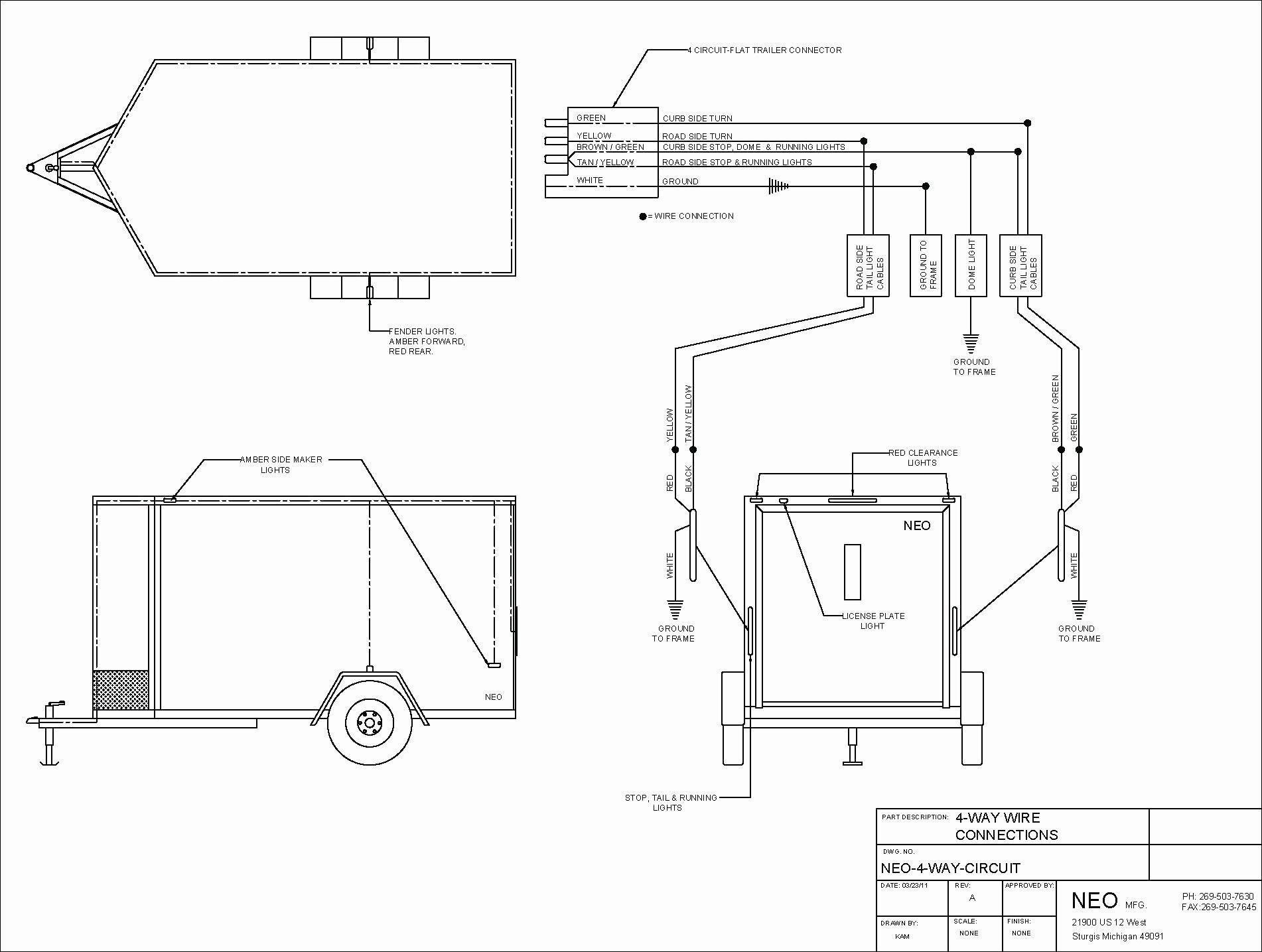 Unique Wiring Diagram for Car Trailer with Electric Brakes