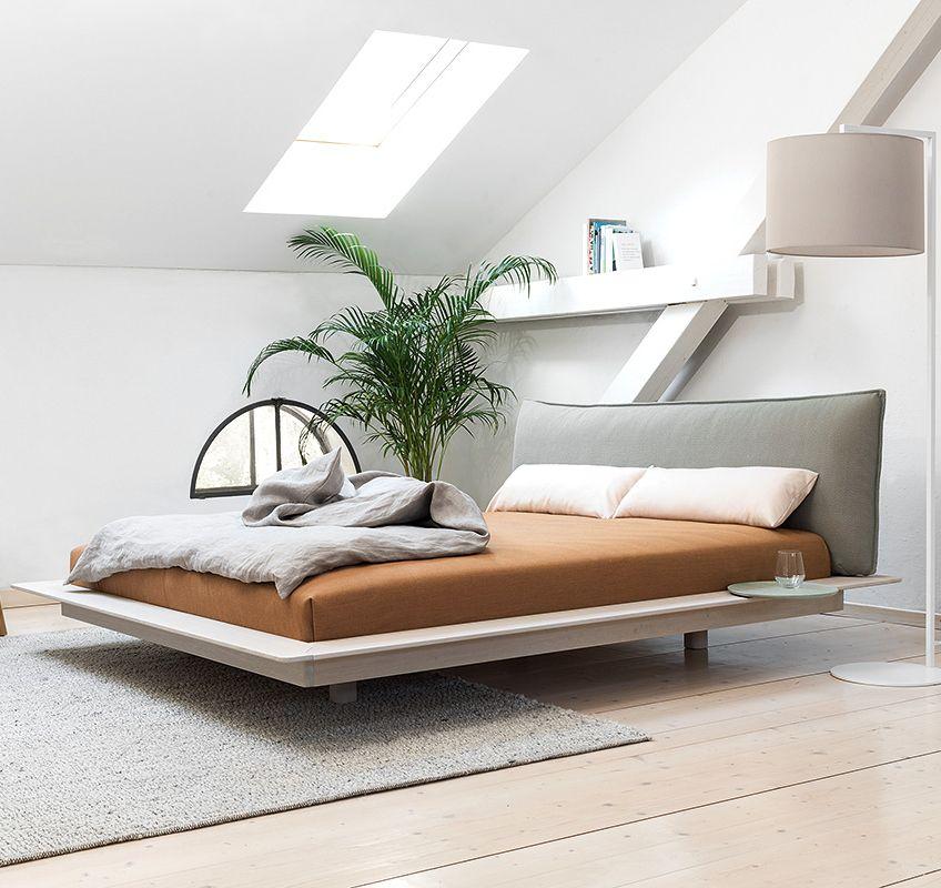 Puristische Betten Bett modern, Schlafzimmer bett und