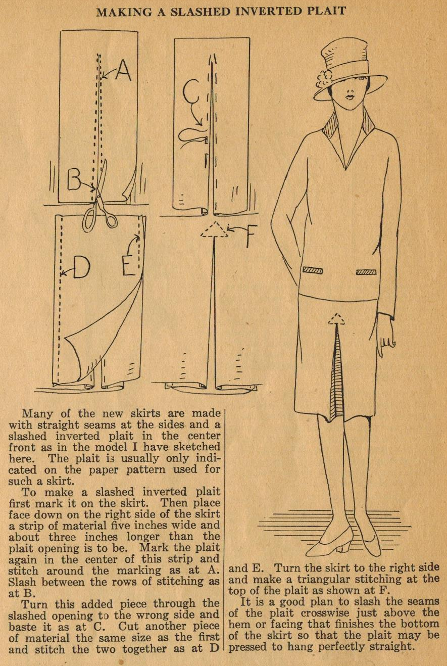The Midvale Cottage Post: Home Sewing Tips from the 1920s   Progetti ...