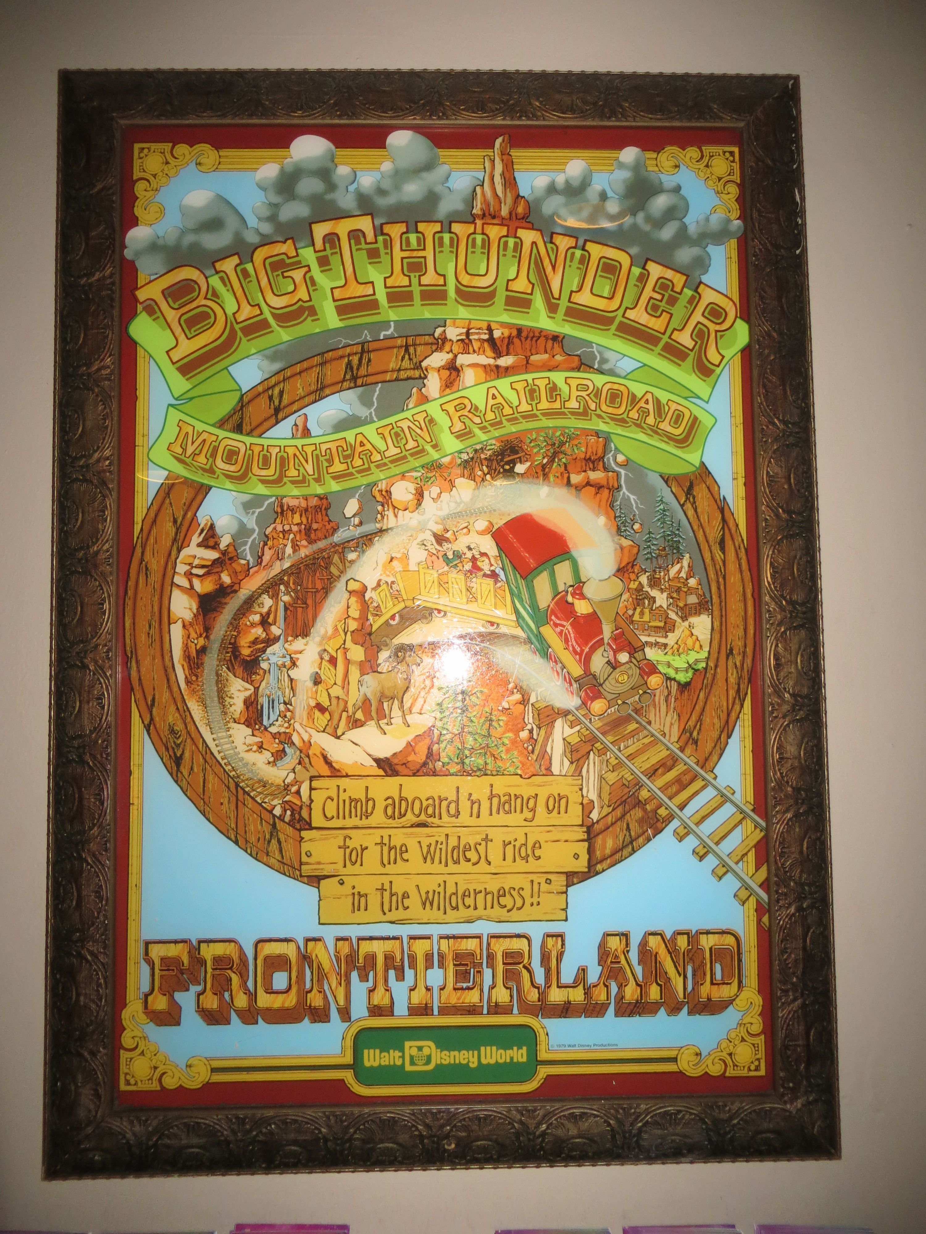 "SPLASH MOUNTAIN DISNEYLAND 8.5/"" x 11/"" DISNEY POSTER"