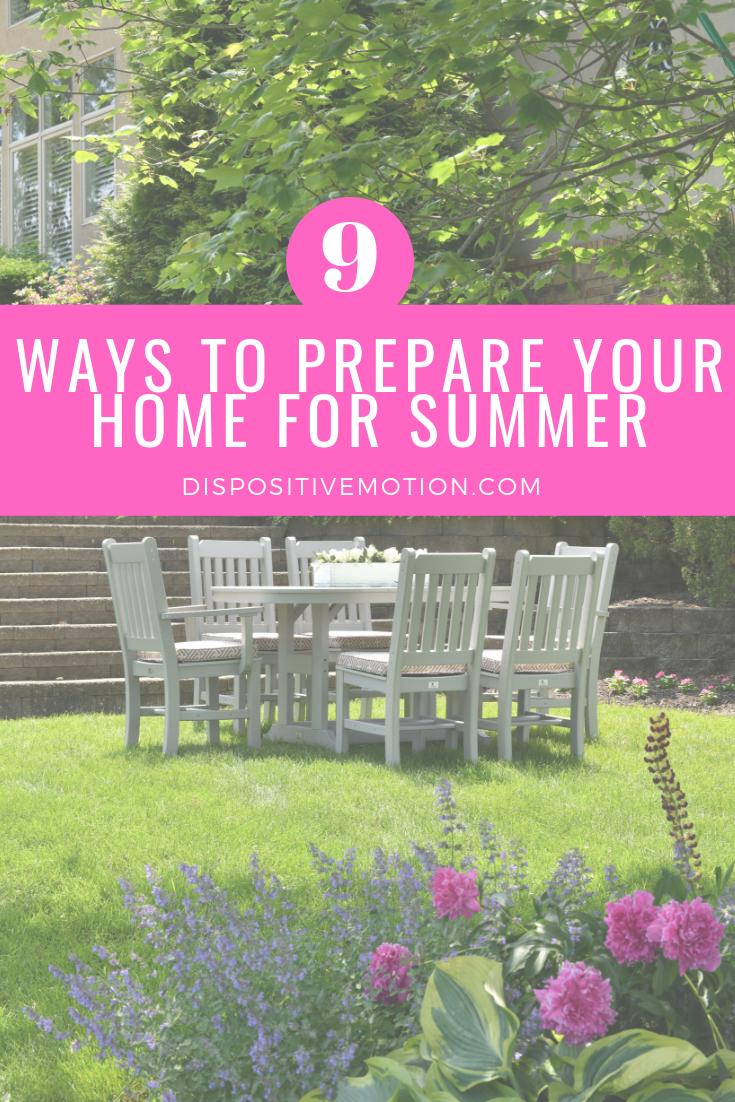 Photo of Finden Sie heraus, wie Sie Ihr Zuhause am besten auf den Sommer vorbereiten können. Diese 9 …