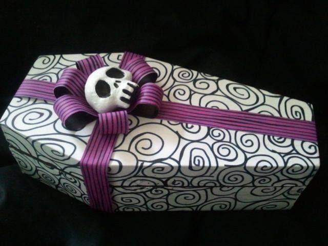 Coffin Gift Box (from Horrific Finds)