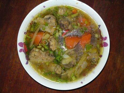 Dari Dapur Orang Kampung Sup Ayam