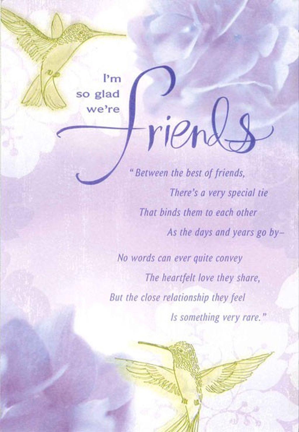 Hydrangeas And Happiness Friendship Birthday Card Happy Birthday