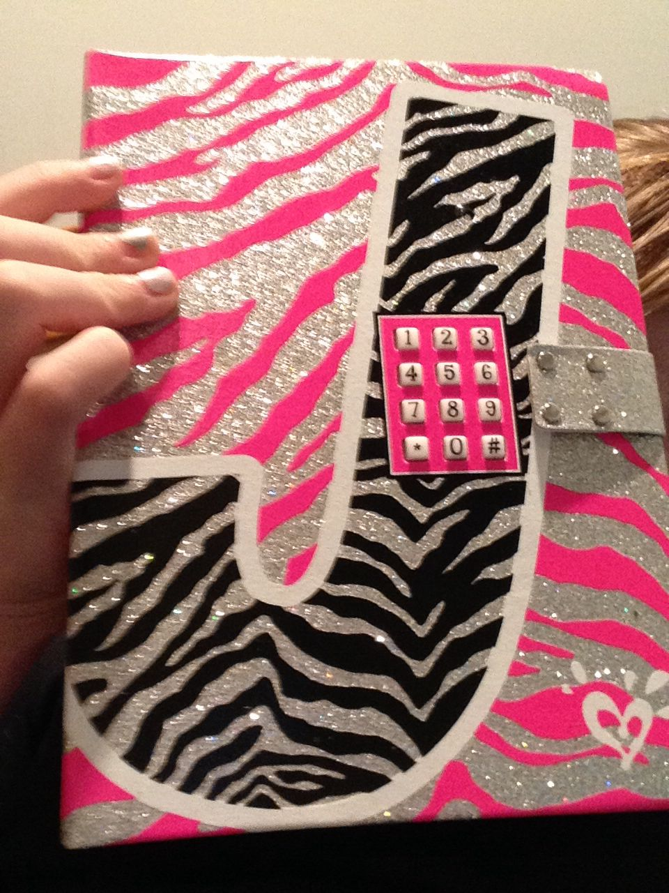 Diary with pass code lock from justice    Love it! Only 30