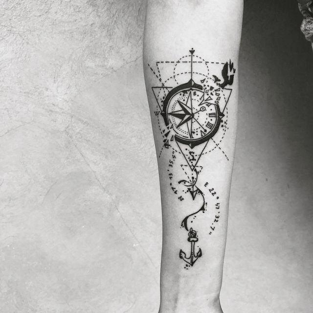 Image Couplestattoosbadass Tattoos For Guys Tattoo Designs Geometric Tattoo