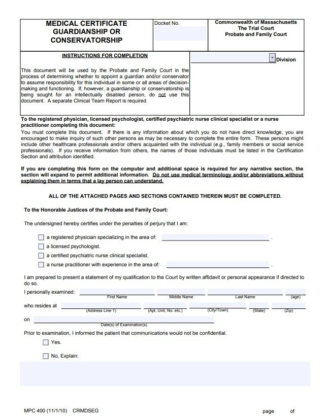 certificate medical template printable examples sample guardianship templates wordstemplates word printables d4 note examination pdf formats samples