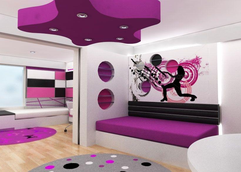 diseos de dormitorios juveniles