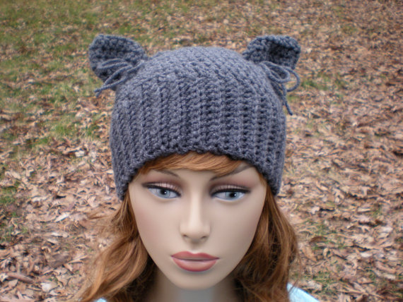 Cat Ears · Hat Patterns · PATTERN The Hathaway easy crochet PDF email Size  NB by swellamy 391d6c3ec13