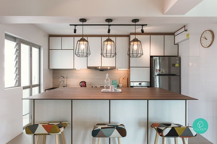 24 Scandinavian Style Hdb Flats And Condos To Inspire You With Images Kitchen Concepts Open Concept Kitchen Design Your Kitchen