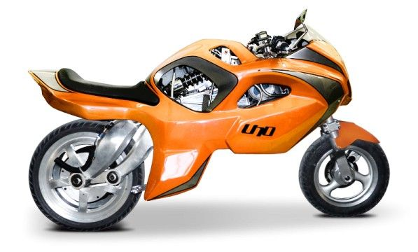 The Bike Uno From Bpg Motors Is A Transformers Segway Motorcycle