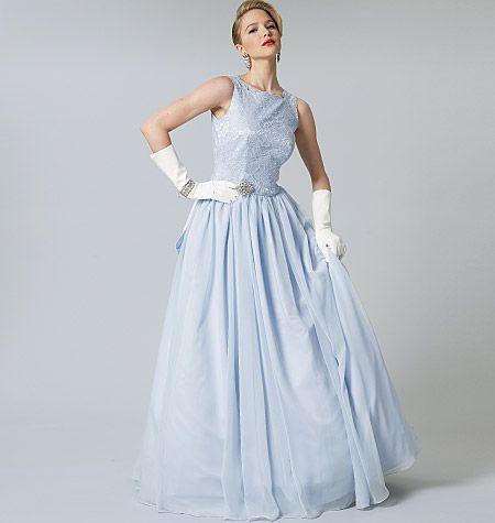 Vogue Pattern V8729 | Bridesmaids Dresses | Pinterest