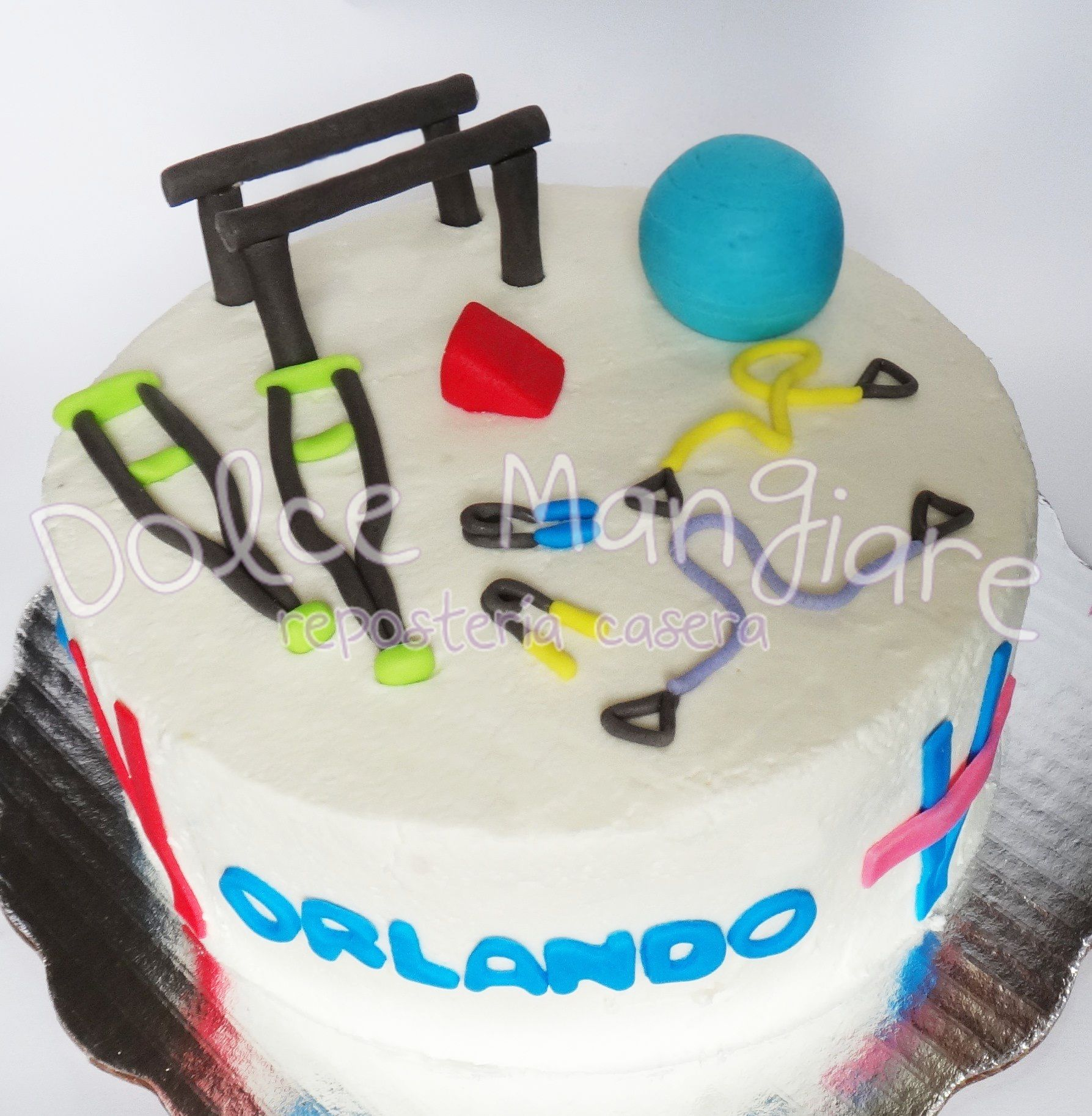Pastel De Fisioterapia Physiotherapy Cake