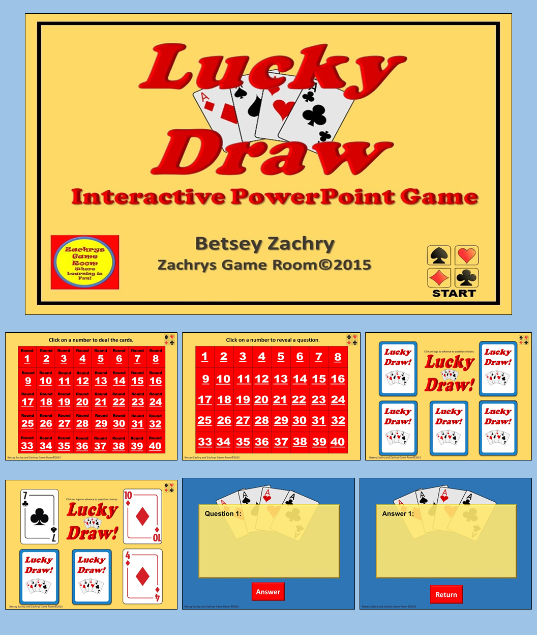 Powerpoint game template lucky draw interactive game teacher pay lucky draw is a fun interactive educational powerpoint game template all you have to do toneelgroepblik Choice Image