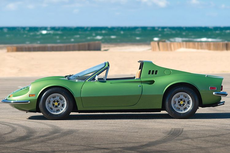 This 1974 Ferrari Dino 246 Gts By Scaglietti Is Lucky To Be Here