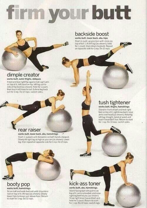 #Glutes #butt #exercise #fitness